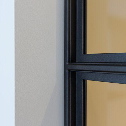 Detail profiel stalen deur