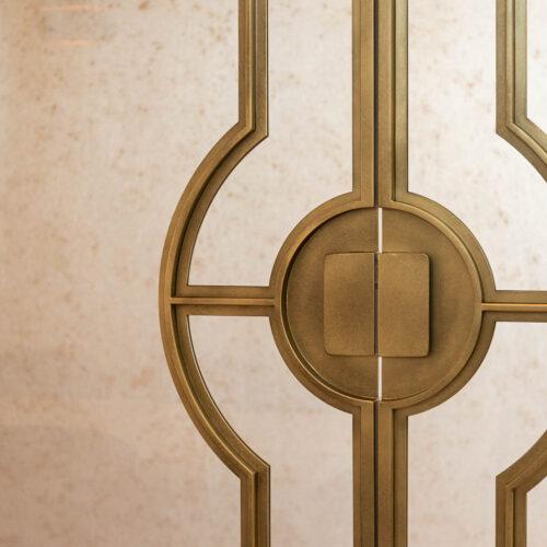 Gouden stalen taatsdeuren Mallet Osiris