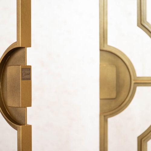 Gouden stalen taatsdeuren Osiris