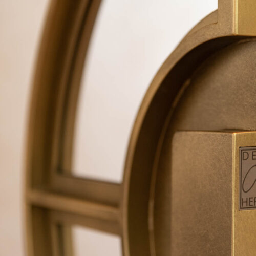 Gouden stalen taatsdeuren met Osiris handgreep