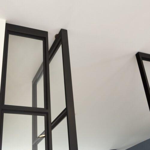 Stalen deur profiel