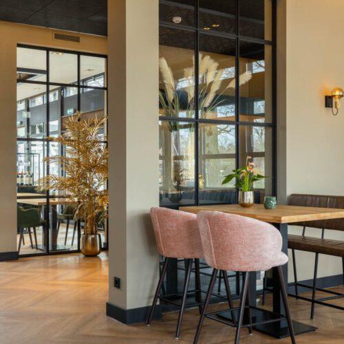 Restaurant stalen deuren in Renswoude De Hof