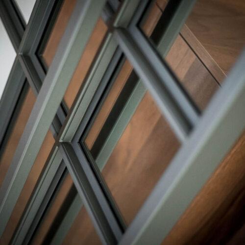 Stalen deur details maatwerk