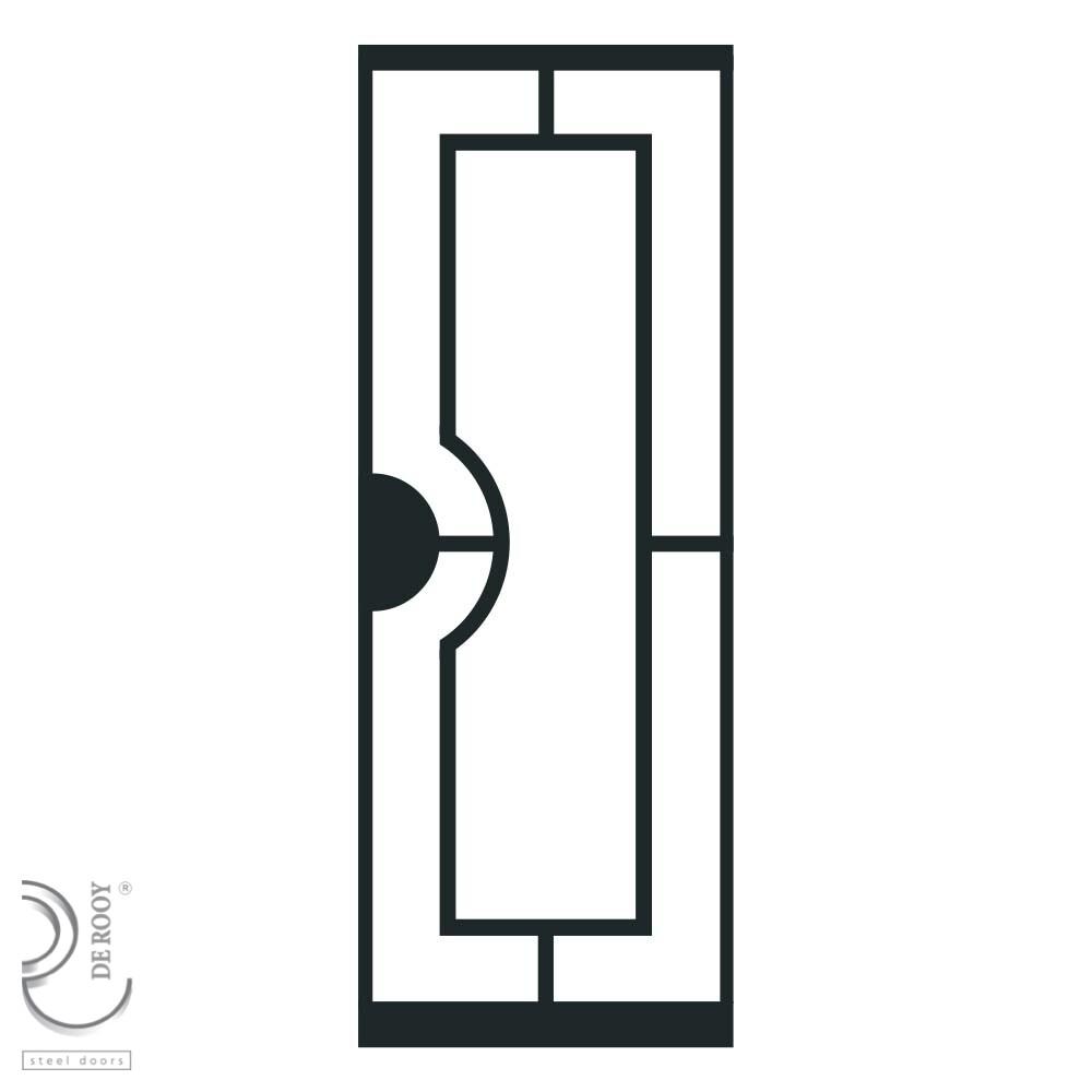 Vlakverdeling Mallet De Rooy Steel Doors
