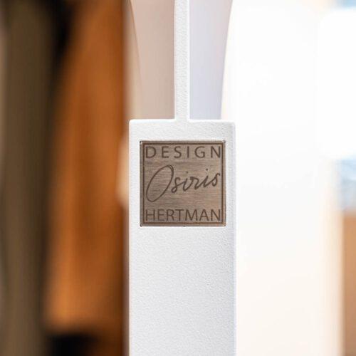 Witte stalen deuren design Osiris Hertman