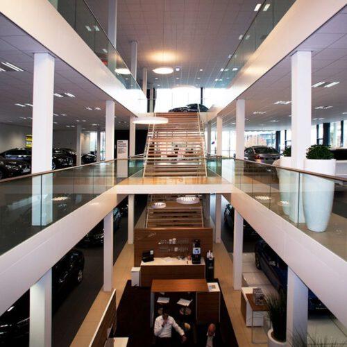 Glazen trap in Veenendaal